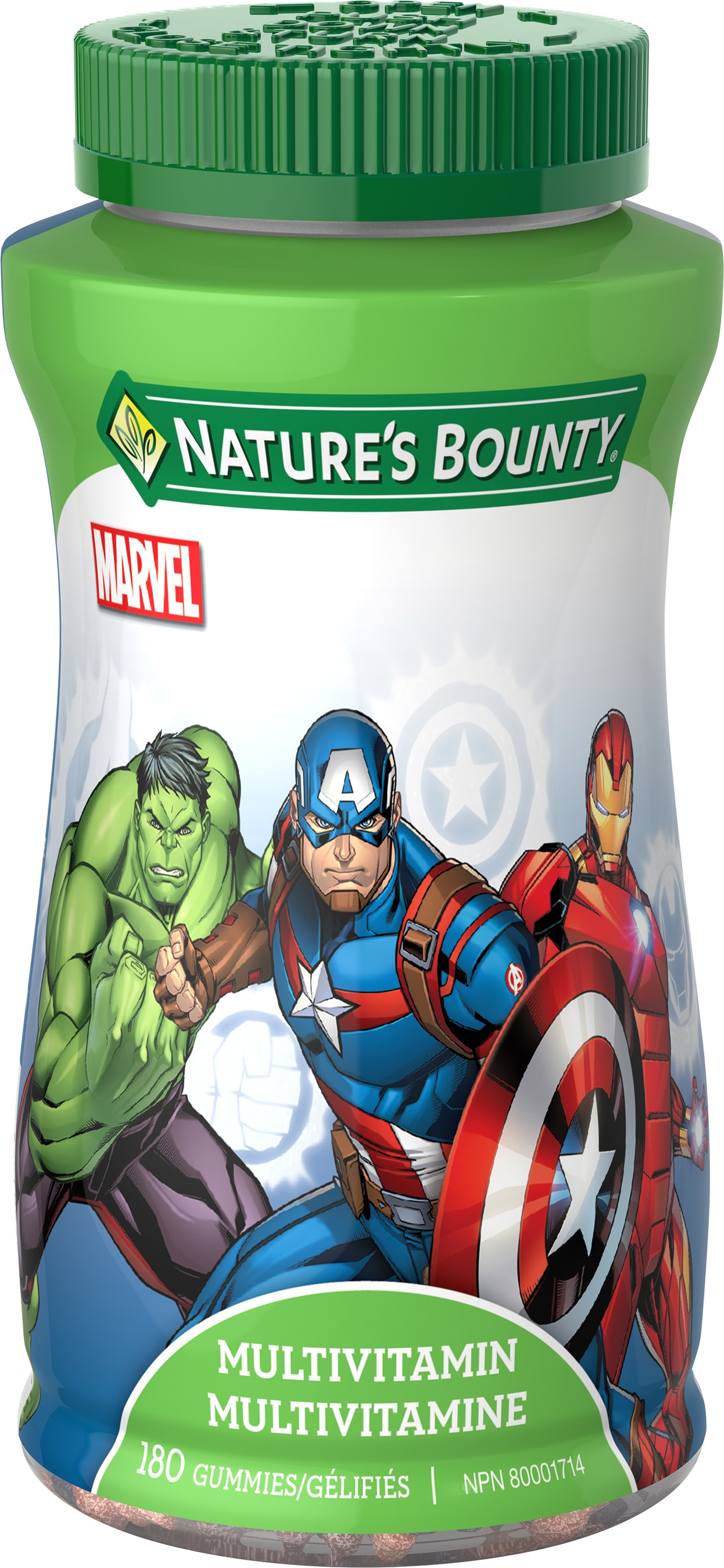 Nature's Bounty Marvel Avengers Multivitamin Gummies