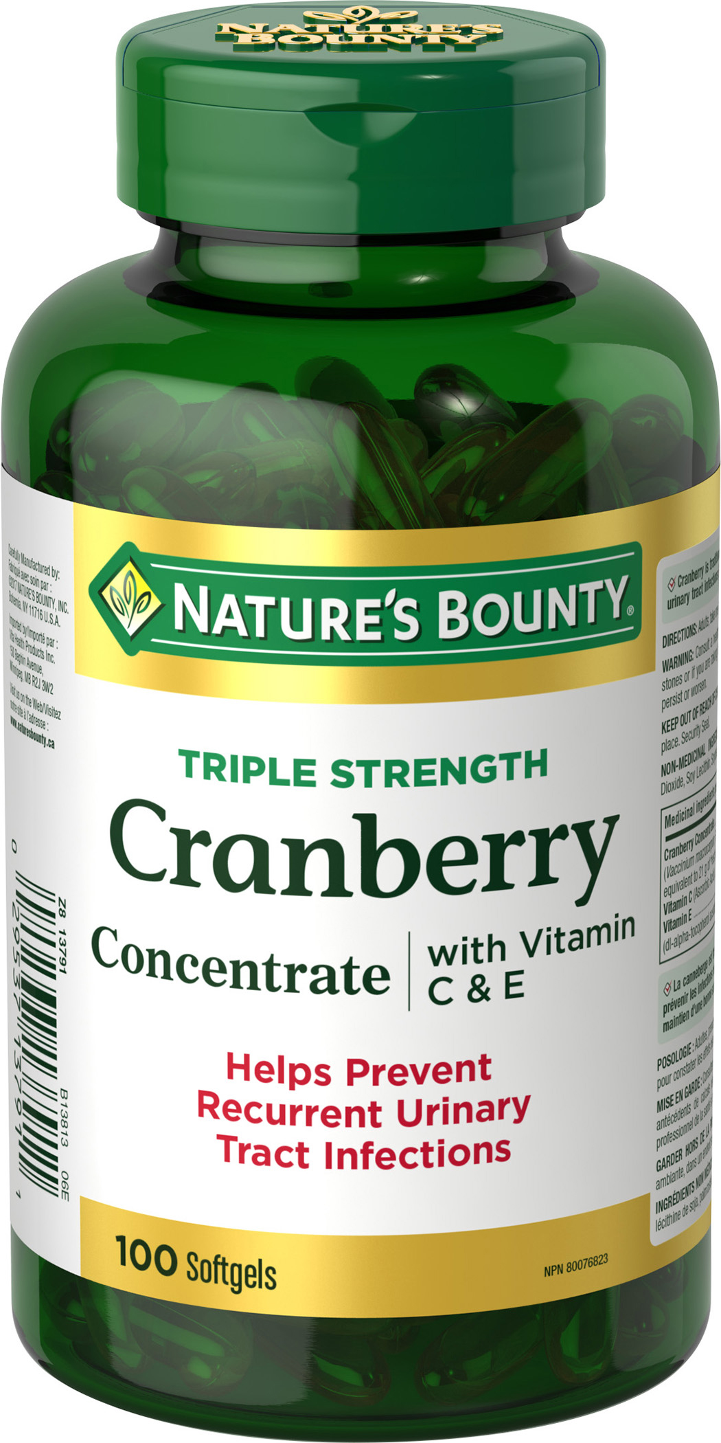 Cranberry with Vitamin C + E