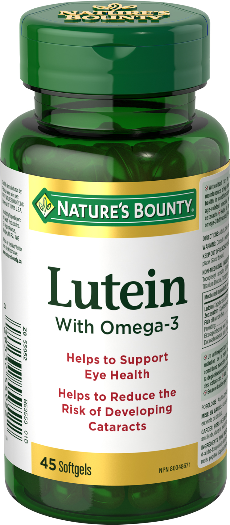 Lutein with Omega 3