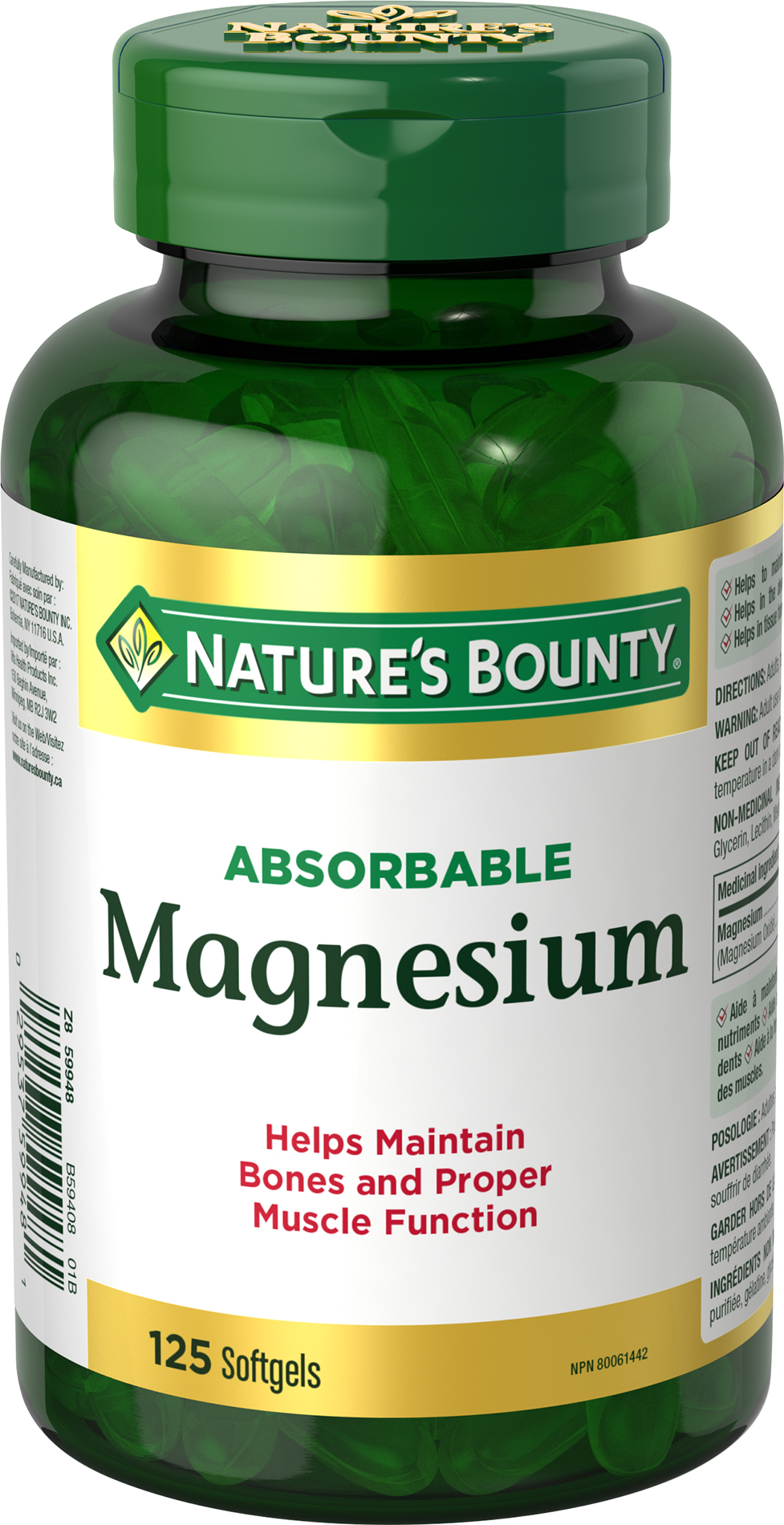 Absorbable Magnesium