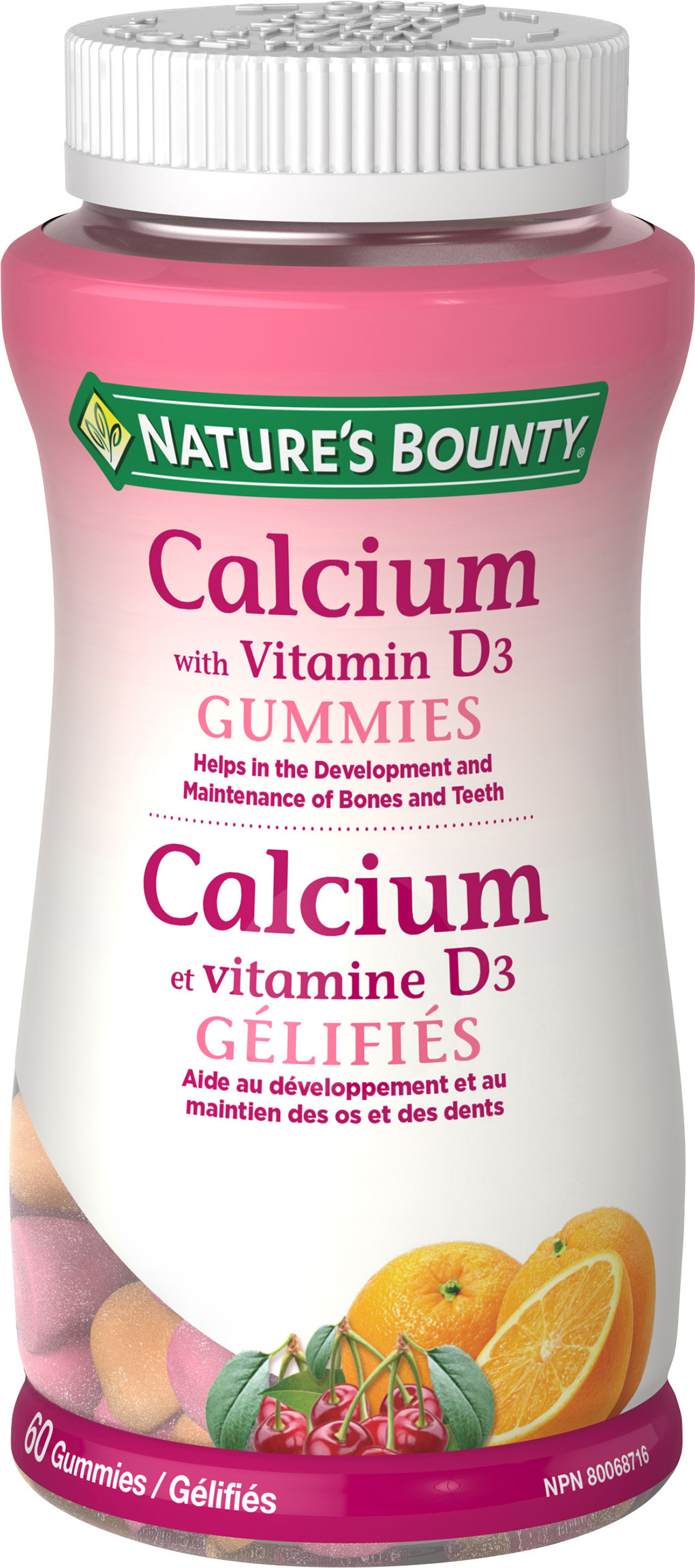 Calcium with Vitamin D3 Gummies